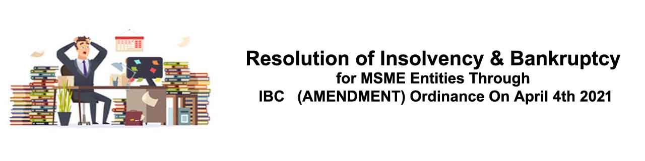 pre-packaged resolution of insolvency